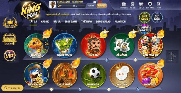 king-fun-cong-game-doi-thuong-chat-luong